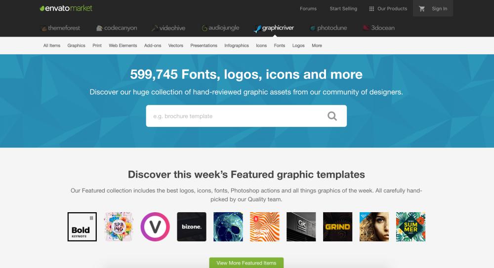 Envato market achats d'images et autres visuels