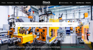 istock images pour projets web